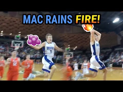 Mac McClung With HUGE FILAYYYY In Virginia Playoffs! Drops 41 In DUB 🚀
