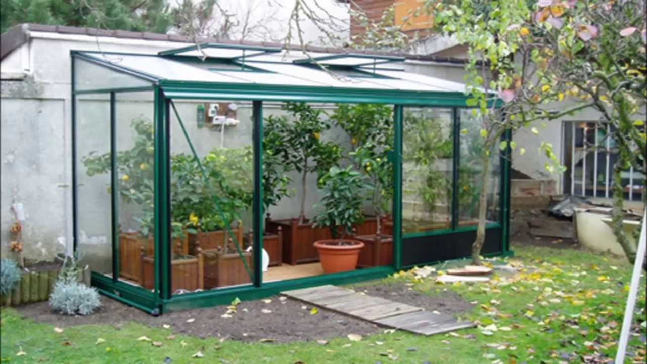 Serres de jardin verre et aluminium  YouTube
