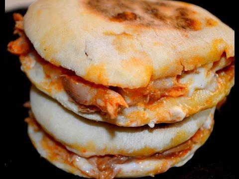 cuisine-marocaine-/-recette-rapide-et-facile-de-batbout-farcie