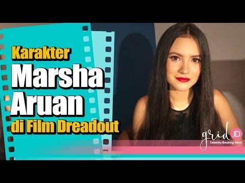 Film dan Karakter Baru Marsha Aruan dalam Film Action  Horor Dreadout