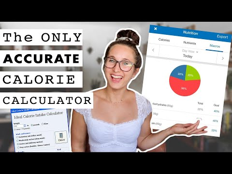 The MOST Accurate CALORIE CALCULATOR | How to Calculate Your Maintenance Calories and TDEE