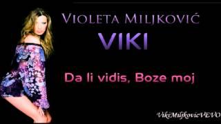 Viki Miljković // Da li vidiš, Bože moj // 1994