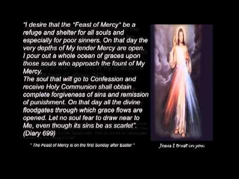Information on the Divine Mercy Devotion