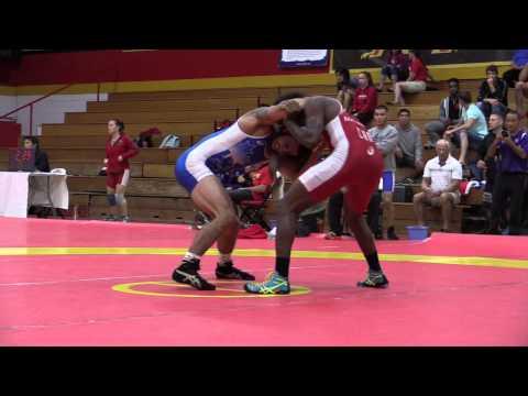 2015 World Team Trials: 70 kg Cruiz Manning vs. Alec Bauer