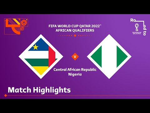 Central Africa Nigeria Goals And Highlights
