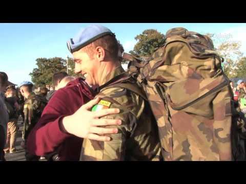 Return of 48th Infantry Group, UNDOF, 07 Oct 2015