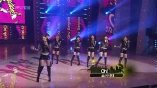 【HD Live】少女時代SNSD - Run Devil Run u0026 Oh! (101230)