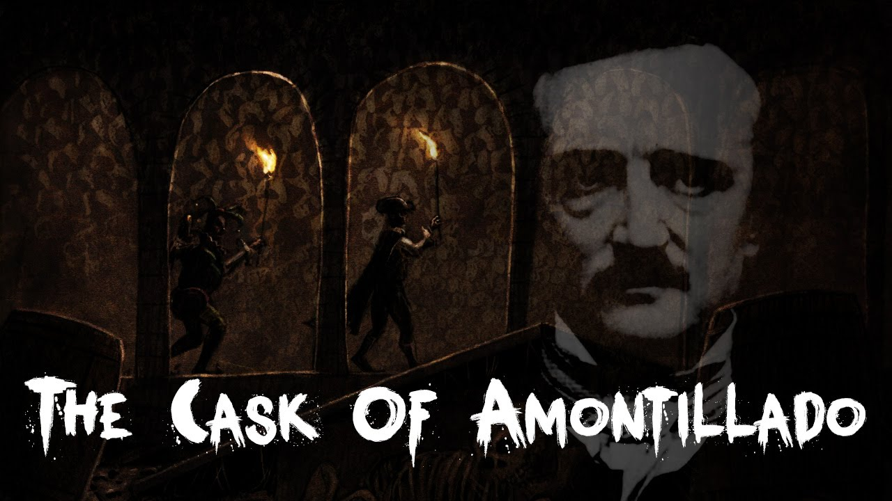 "the diabolic narrator in the cask of amontillado a short story by edgar allan poe T he gothic short story entitled ""the cask of amontillado"" the short story expresses an enigmatical edgar allan poe, freemasonry."