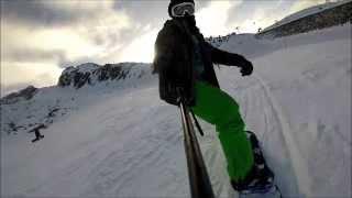 Gopro hero 3+ snowboard edit Mont Blanc