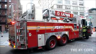 Ghostbusters (Movie) Headquarters New York City - Fire Department NY (FDNY) Hook & Ladder 8