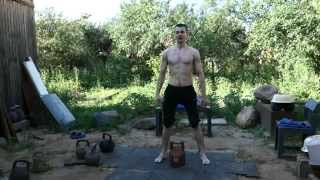 ТРЕНИРОВКА С ГИРЯМИ TRAINING WITH KETTLEBELLS 04. 07. 15