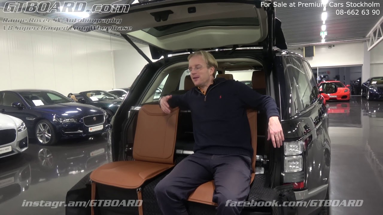 Range Rover Interior >> Tailgate event seating of Rolls Royce Cullinan or RR SV ...