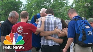 Santa Fe School Shooting Moment Of Silence Was Held To Honor Victims | NBC News