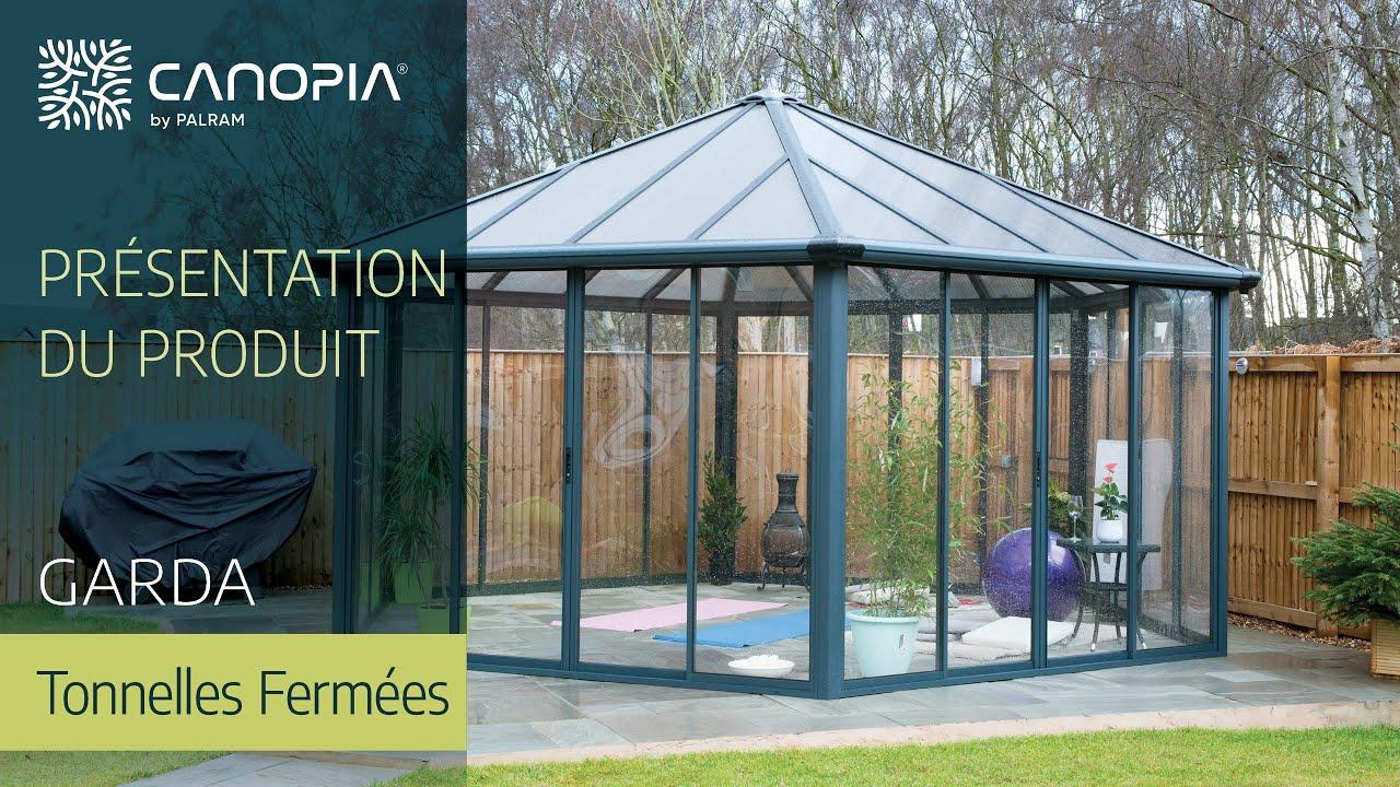 Kiosque En Bois Hexagonal kiosque - pavillon fermé hexagonale palram garda™ - jardin d'hiver