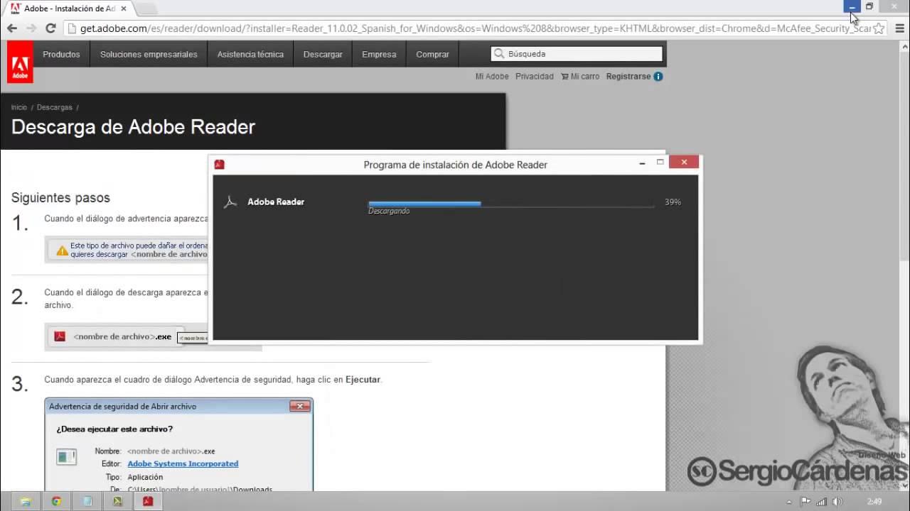 Download adobe reader 9. 3 full version.