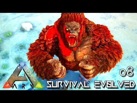 ARK: SURVIVAL EVOLVED - NEW MEGAPITHECUS DOMINUS GORILLA !!! E08 (MOD ARK ETERNAL CRYSTAL ISLES)