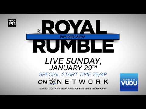 WWE Royal Rumble 2017: Cena vs. Styles – Live Sunday, Jan. 29