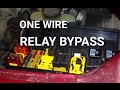 HOW TO Bypass A Relay Using One Wire mp3