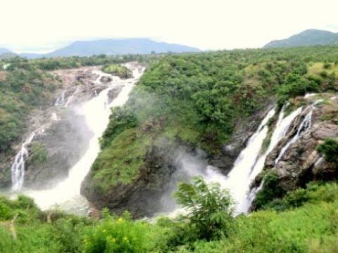SHIVANASAMUDRA FALLS - Gaganachukki and Barachukki Falls