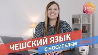 Спряжение глаголов. Уроки чешского языка с носителем. Урок 7