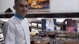 Шведский стол в Arsi отеле, Завтрак и Ужин