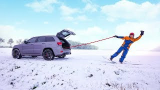 SNOWBOARDEN ACHTER MIJN AUTO (704PK) #2005