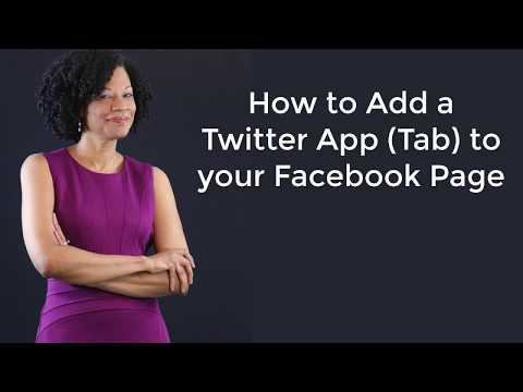 How to Add a Twitter Tab to Your Facebook Business Page