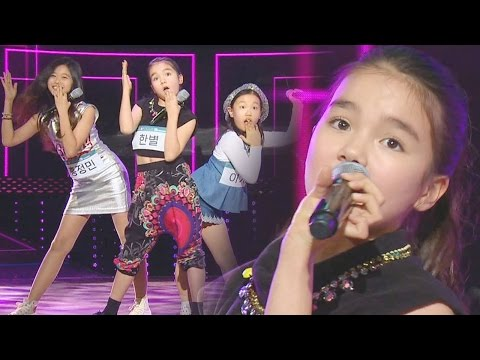 Hanbyul & Young Contestants Cute Performance 'U Go Girl' 《KPOP STAR 6》 EP14