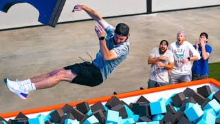 Freeze Frame Nerf Battle | Dude Perfect