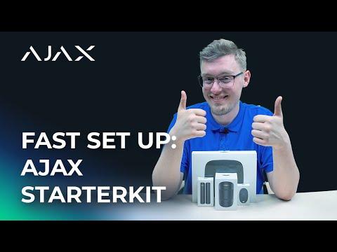 How To: Ajax StarterKit Fast Set-up For All Sensors