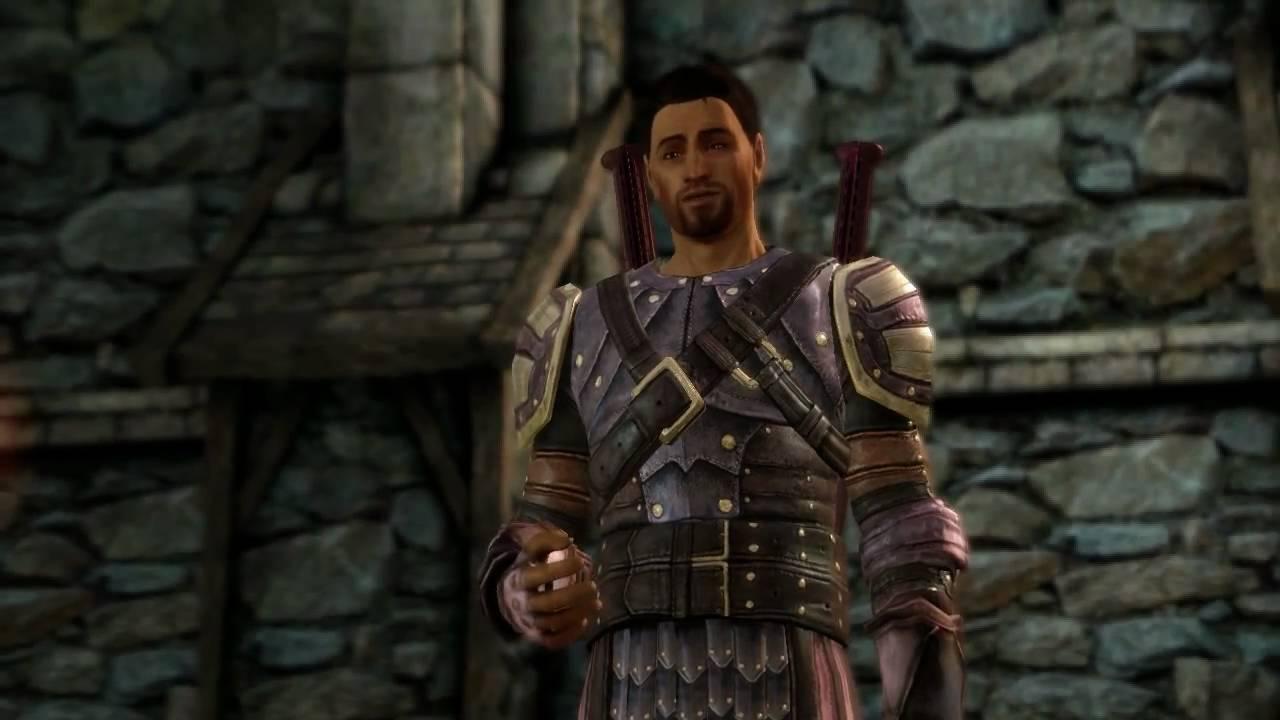 gideon emery fenris voice in dragon age origins youtube