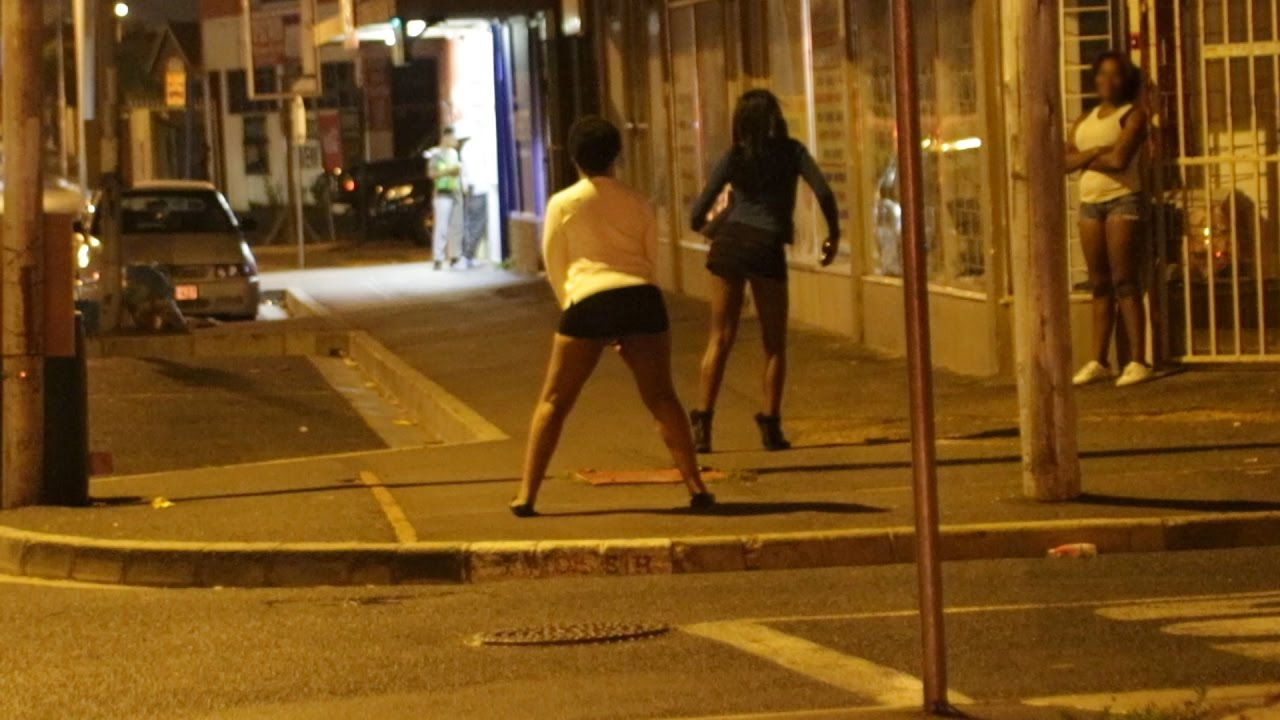 Sex having African prostitutes black