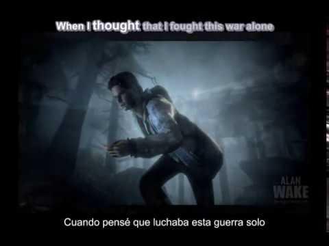 Alan Wake  Poets Of The Fall  War English  Español Lyrics