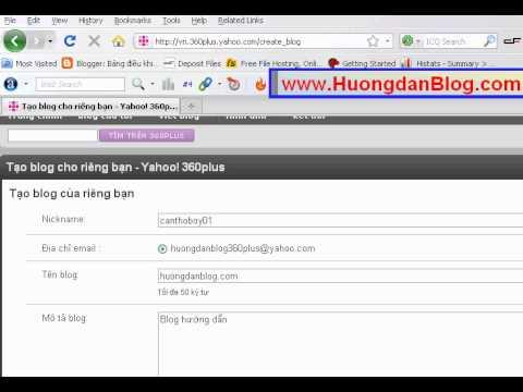 huong dan tao blog 360 plus