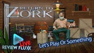 Return To Zork - Review Fluxx Live