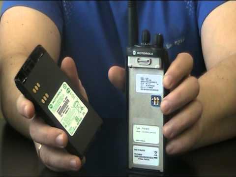 Motorola GP-340.  Профессиональная радиостанция