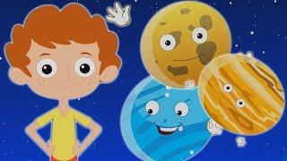 планета песня образовательная песня для детей обучение песня Planet Song Nursery Rhymes