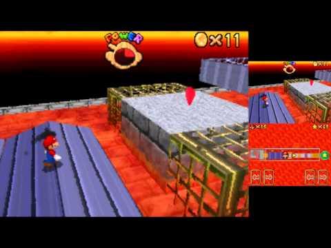 Super Mario 64 DS 80 star speedrun WR 1:33:10