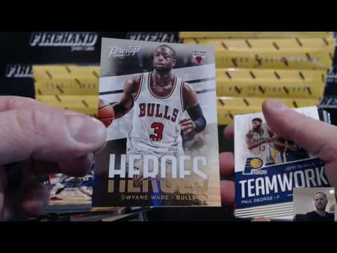 2016-17 Panini Prestige Basketball 8 Box Break RT #1 ~ 3/12/17