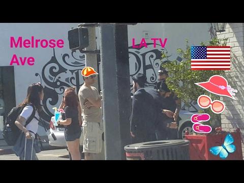 Los Angeles Driving Tour: Melrose Avenue, a Fashion Street