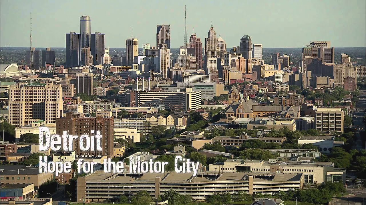 Modern Ruins Detroit Hope For A Motor City Youtube