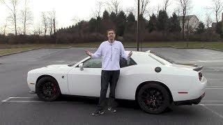 Я водил Dodge Challenger Hellcat (и чуть его не разбил)