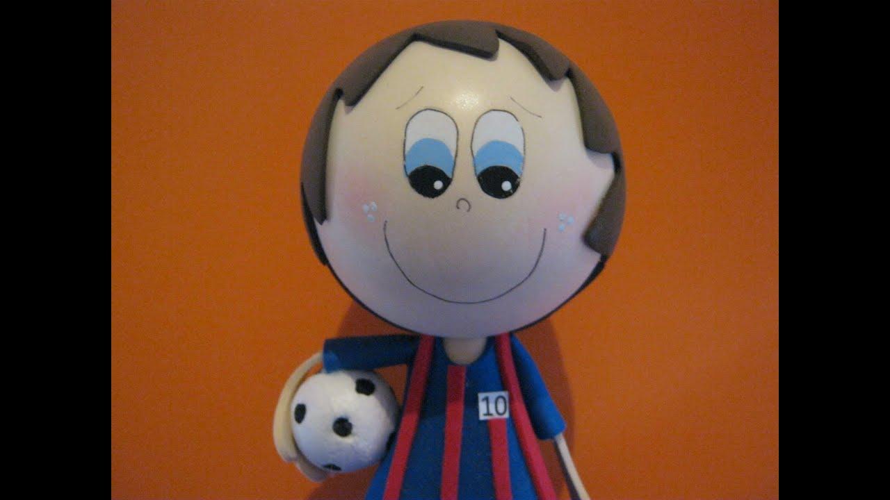 Muñeco Fofucho En Foamy Lionel Messi Barcelona FC Artfoamicol ...