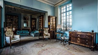 Abandoned Untouched Royal Millionaires Mansion - Royal Family Disappeared Out Of Nowhere