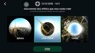 MAJ Anafi 6.3 : panoramas créatifs (drone Parrot 4K)