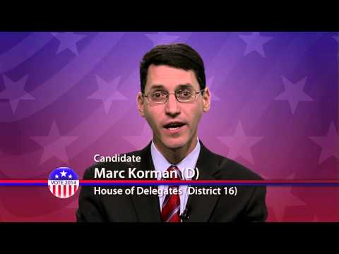 Marc Korman (D), Candidate for Maryland House of Delegates  District 16