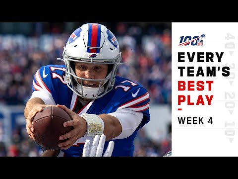 Every Team's Best Play of Week 4!   NFL Highlights