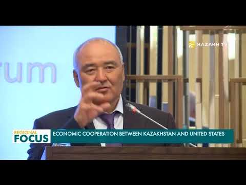 Economic cooperation between Kazakhstan and United States