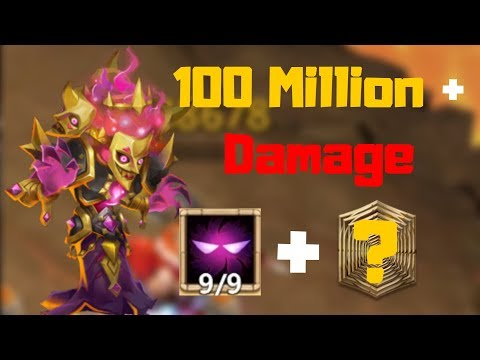 Bogeyman 100 Million+ Damage | Castle Clash