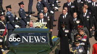 Ceremony honors life of Prince Philip